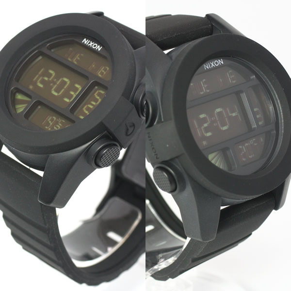 NIXON UNIT Nixon unit watch mens black digital NA197000-00