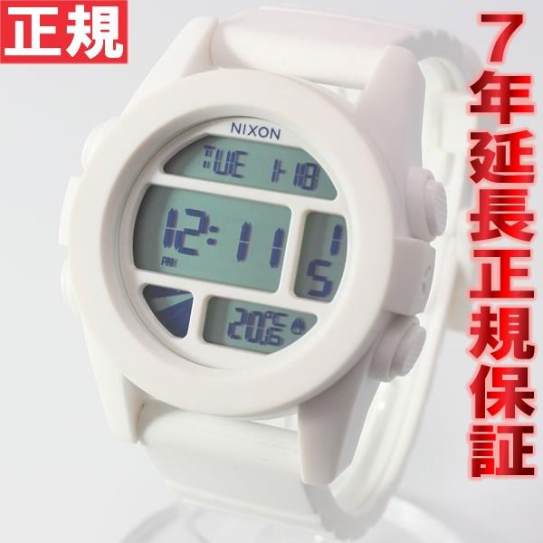 【お買い物マラソンは当店がお得♪本日20より!】NIXON THE UNIT ユニット ニクソン 腕時計 メンズ ホワイト デジタル NA197100-00