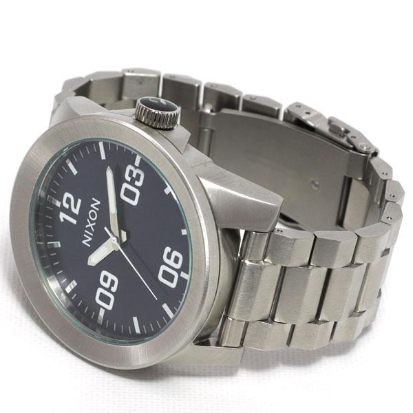 ニールなら!店内ポイント最大47倍は明日20時から! ニクソン NIXON コーポラルSS CORPORAL SS 腕時計 メンズ ブルーサンレイ NA3461258-00