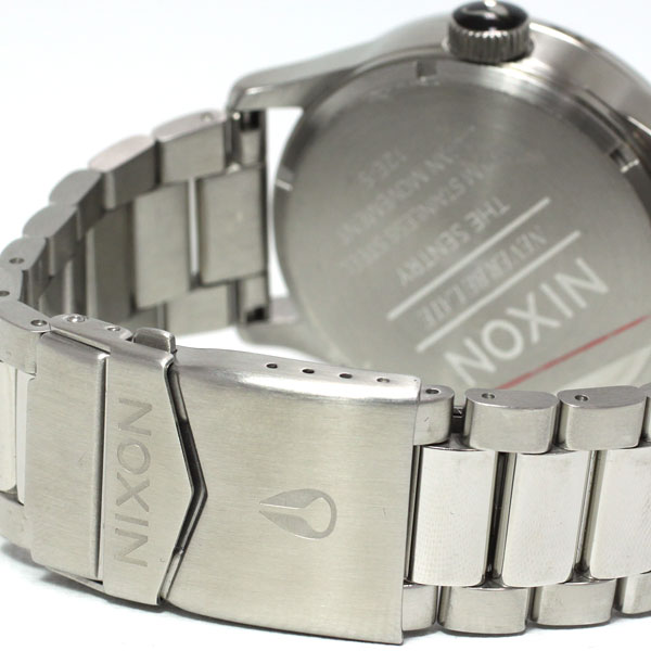 Nixon NIXON sentry SENTRY SS SS watch men's ブルーサンレイ NA3561258-00