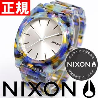 ニクソン NIXON THE TIME TELLER ACETATE タイムテラー アセテート ニクソン 腕時計 レディース ウォーターカラー NA3271116-00