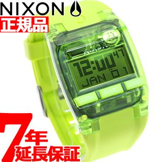 10%OFFクーポン!31日23:59まで! ニクソン NIXON コンプ COMP 腕時計 メンズ オールネオングリーン NA4082044-00