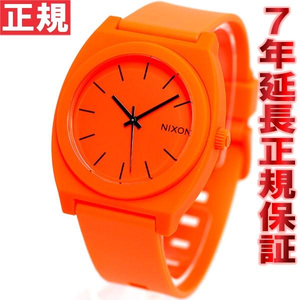 ニクソン NIXON タイムテラーP TIME TELLER P 腕時計 メンズ ネオンオレンジ NA1191156-00