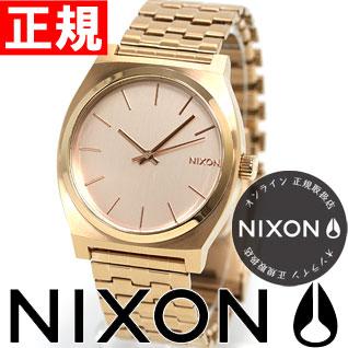 【SHOP OF THE YEAR 2018 受賞】ニクソン NIXON タイムテラー TIME TELLER 腕時計 メンズ/ レディース オールローズゴールド NA045897-00