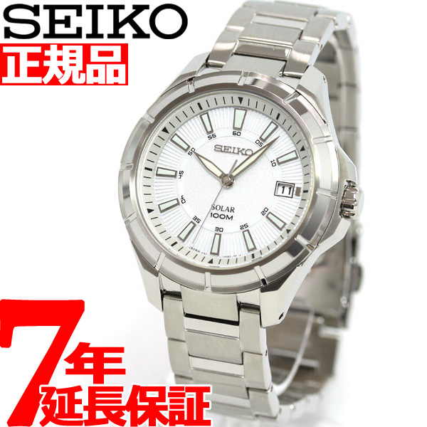 セイコー SEIKO ソーラー 腕時計 メンズ セイコー 逆輸入 SNE077J1