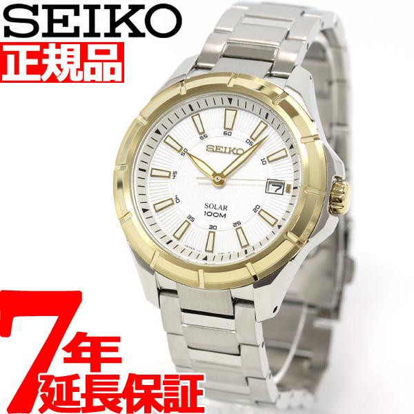 セイコー SEIKO ソーラー 腕時計 メンズ セイコー 逆輸入 SNE084J1