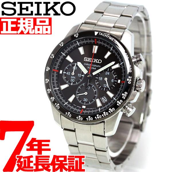 セイコー SEIKO 逆輸入 クロノグラフ SSB031P1