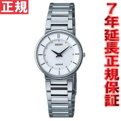 セイコー ドルチェ&エクセリーヌ 腕時計 薄型ペア SEIKO DOLCE&EXCELINE ホワイト SWDL147