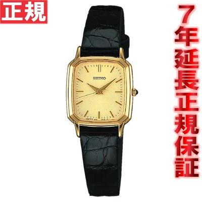 セイコー ドルチェ&エクセリーヌ 腕時計 レディース 薄型ペア SEIKO DOLCE&EXCELINE ゴールド SWDL164