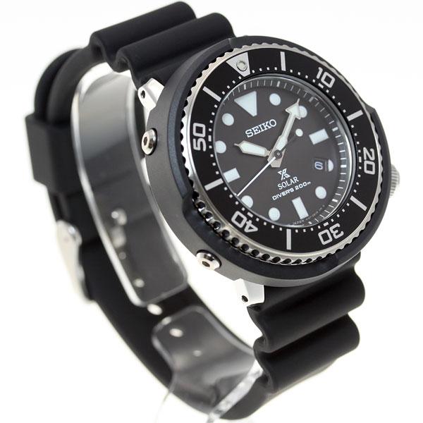 Seiko ProspEx SEIKO PROSPEX scuba LOWERCASE limited model diving watches solar watches mens SBDN023