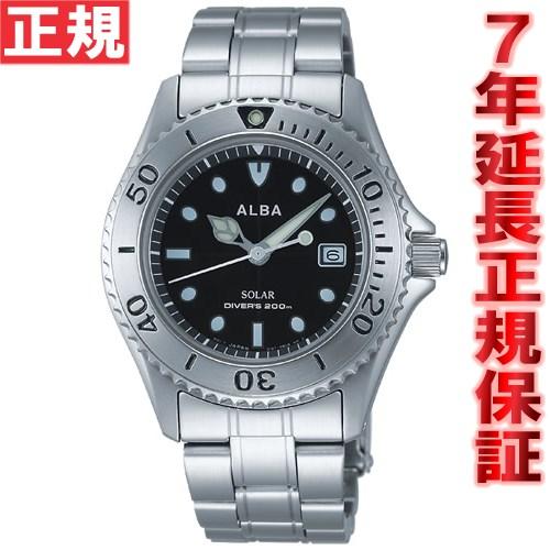 【お買い物マラソンは当店がお得♪本日20より!】セイコー アルバ SEIKO ALBA ソーラー 腕時計 メンズ ダイバーズウォッチ AEFD529