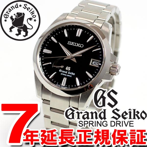 男子的运动场精工GRAND SEIKO手表弹簧驱动器SBGA027