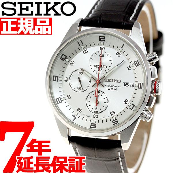 100m防水 腕時計 セイコー (SNDC87PD) 時計 SEIKO クロノグラフ [正規品] メンズ 逆輸入モデル SNDC87P2