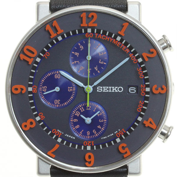 -Seiko spirit smart SEIKO SPIRIT SMART SOTTSASS Ettore Sottsass collaboration with Reprint Edition limited edition model watch men's chronograph SCEB017