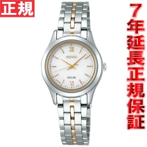 セイコー スピリット SEIKO SPIRIT ソーラー 腕時計 レディース ペアウォッチ STPX011