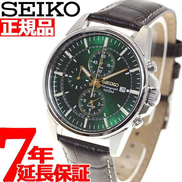 セイコー SEIKO 腕時計 メンズ セイコー 逆輸入 クロノグラフ SNAF09P1(SNAF09PC)