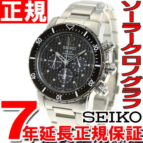 セイコー SEIKO ソーラー 腕時計 メンズ セイコー 逆輸入 クロノグラフ SSC245P1(SSC245PC)