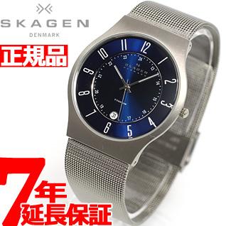 【お買い物マラソンは当店がお得♪本日20より!】スカーゲン SKAGEN 腕時計 メンズ チタン TITANIUM チタニウム 233XLTTN