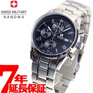 スイスミリタリー SWISS MILITARY 腕時計 メンズ ペアウォッチ ローマン ROMAN クロノグラフ ML346