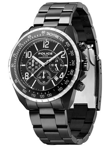 【お買い物マラソンは当店がお得♪本日20より!】ポリス POLICE 腕時計 メンズ ニューネイビー NEW NAVY クロノグラフ 12545JSBS-02M