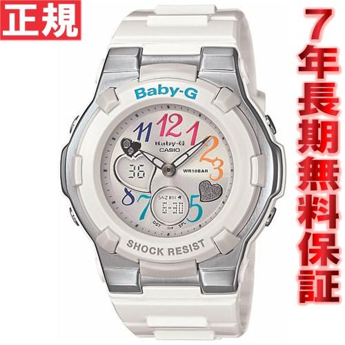 Baby-g baby G ladies watch length Tanikawa j. multi-color dial series an analog-digital BGA-116-7BJF