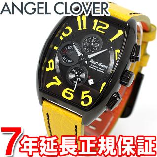 エンジェルクローバー Angel Clover 時計 メンズ 腕時計 ダブルプレイ Double Play クロノグラフ DP38BYE-YE