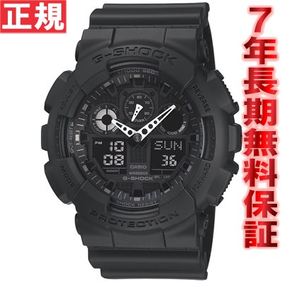 【SHOP OF THE YEAR 2018 受賞】G-SHOCK GA-100-1A1JF カシオ Gショック 腕時計 メンズ アナデジ G-SHOCK GA-100-1A1JF