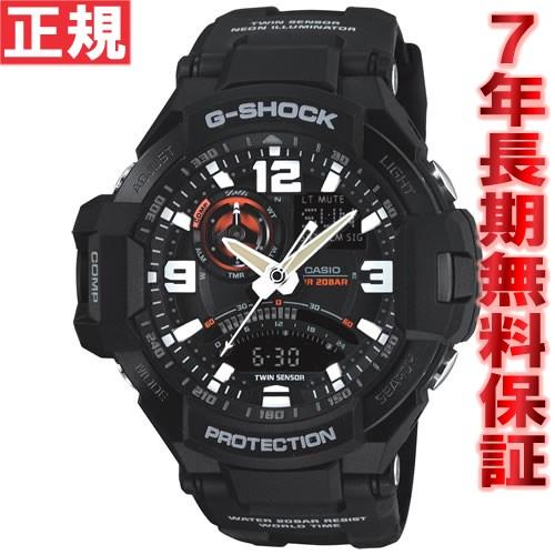 G-SHOCK ブラック カシオ Gショック スカイコックピット CASIO SKY COCKPIT 腕時計 メンズ アナデジ GA-1000-1AJF