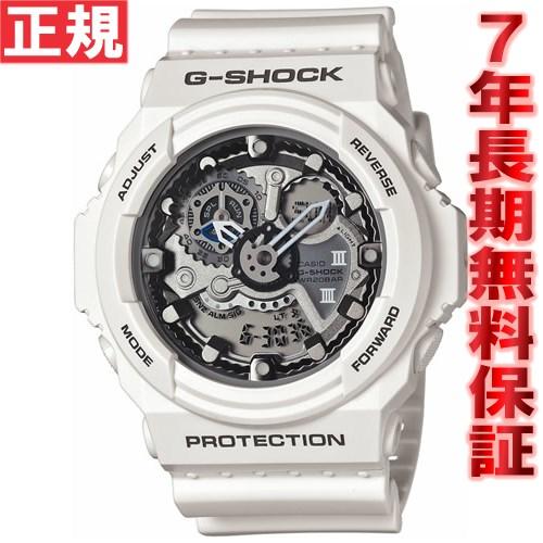 G-SHOCK ホワイト 白 腕時計 メンズ アナデジ GA-300-7AJF