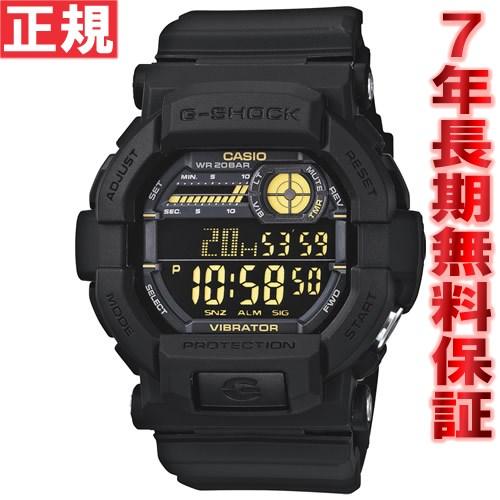【SHOP OF THE YEAR 2018 受賞】G-SHOCK ブラック 腕時計 メンズ デジタル GD-350-1BJF