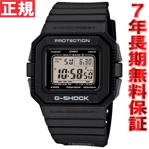 【お買い物マラソンは当店がお得♪本日20より!】G-SHOCK 電波 ソーラー 電波時計 ブラック 腕時計 メンズ デジタル タフソーラー GW-5510-1JF