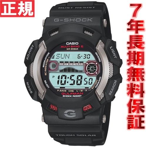 G-SHOCK 電波 ソーラー 腕時計 メンズ カシオ Gショック マスターオブG ガルフマン G-SHOCK GULFMAN GW-9110-1JF