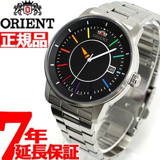 ニールがお得!今ならポイント最大39倍!10日23時59分まで! オリエント ORIENT スタイリッシュ&スマート ディスク DISK レインボー 腕時計 メンズ 自動巻き WV0761ER