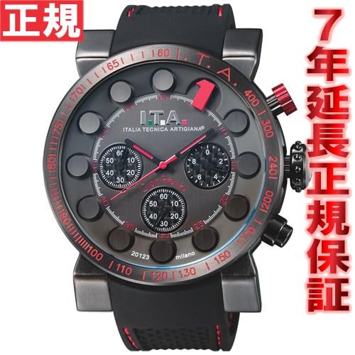 I.T.A. アイティーエー 腕時計 メンズ グランプレミオ Gran Premio クロノグラフ 18.01.02