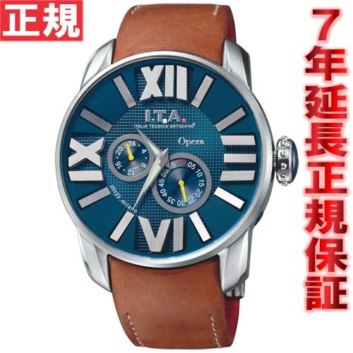 【お買い物マラソンは当店がお得♪本日20より!】I.T.A. アイティーエー 腕時計 メンズ オペラ Opera 21.00.04