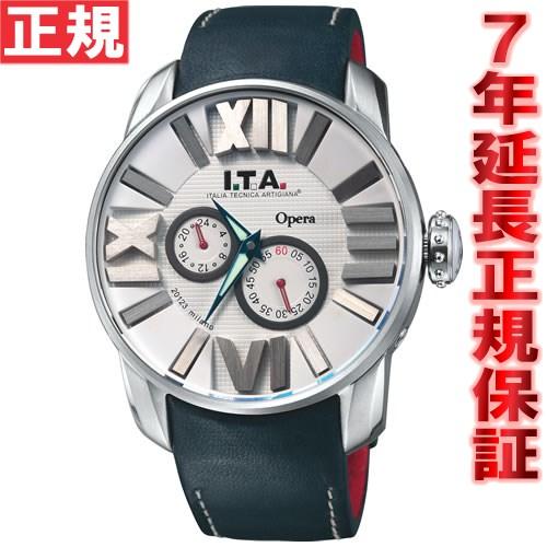 【お買い物マラソンは当店がお得♪本日20より!】I.T.A. アイティーエー 腕時計 メンズ オペラ Opera 21.00.07
