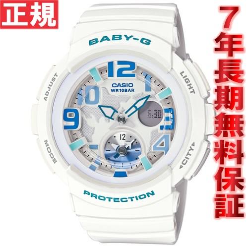 BABY-G カシオ ベビーG 腕時計 レディース ビーチ・トラベラー ホワイト 白 アナデジ BGA-190-7BJF