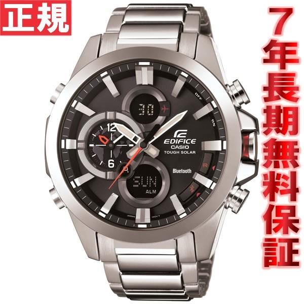 カシオ エディフィス CASIO EDIFICE Bluetooth SMART 対応モデル ソーラー 腕時計 メンズ アナデジ クロノグラフ タフソーラー ECB-500D-1AJF