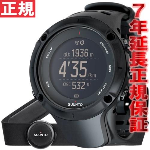 【SHOP OF THE YEAR 2018 受賞】スント アンビット3 ピーク ブラック (HR) SUUNTO AMBIT3 PEAK BLACK (HR) 腕時計 Bluetooth搭載 GPSウォッチ SS020674000