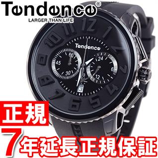 テンデンス Tendence 腕時計 メンズ/レディース ガリバーラウンド GULLIVER Round クロノグラフ TG460010
