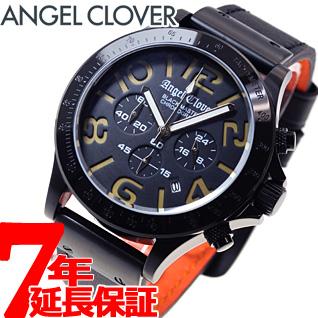 【5日0時~♪10%OFFクーポン&店内ポイント最大51倍!5日23時59分まで】エンジェルクローバー Angel Clover 腕時計 メンズ ブラックマスター ミリタリー クロノグラフ BM46BGD-BK