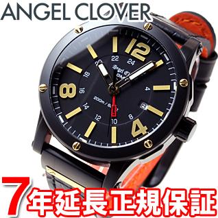 エンジェルクローバー Angel Clover 腕時計 メンズ エクスベンチャー GMT EXVENTURE GMT EVG46BBK-BK