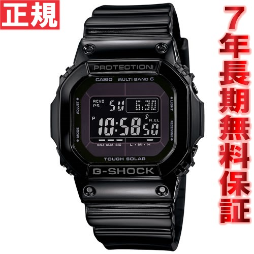 G-SHOCK 電波 ソーラー 電波時計 グロッシー・ブラック 5600 腕時計 メンズ デジタル タフソーラー GW-M5610BB-1JF