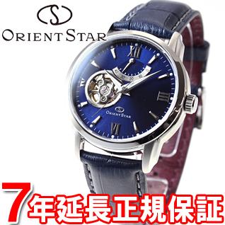 オリエントスター ORIENT STAR 腕時計 メンズ 自動巻き メカニカル セミスケルトン レザーモデル WZ0231DA