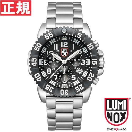 【お買い物マラソンは当店がお得♪本日20より!】ルミノックス LUMINOX 腕時計 メンズ ネイビーシールズ NAVY SEALS STEEL COLORMARK CHRONOGRAPH 3180 SERIES クロノグラフ 3182