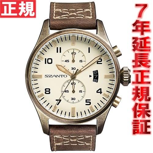 サント SZANTO 腕時計 メンズ クロノグラフ SZ4002