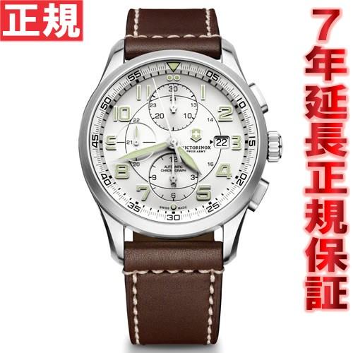 【お買い物マラソンは当店がお得♪本日20より!】ビクトリノックス VICTORINOX 腕時計 メンズ エアボス AIRBOSS メカニカル クロノグラフ 自動巻き ヴィクトリノックス スイスアーミー 241598