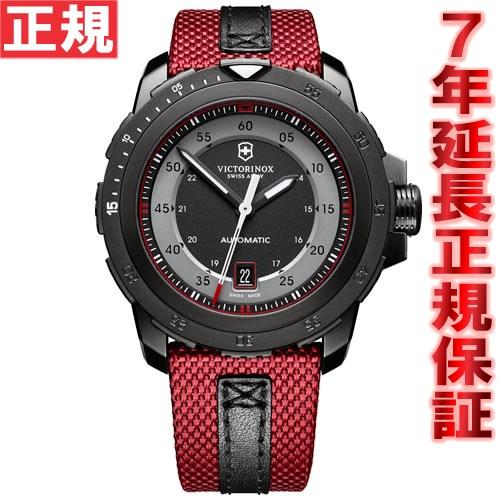 【お買い物マラソンは当店がお得♪本日20より!】ビクトリノックス VICTORINOX 腕時計 メンズ アルピナッハ ALPNACH メカニカル 自動巻き ヴィクトリノックス スイスアーミー 241686