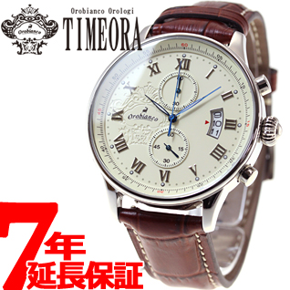 【SHOP OF THE YEAR 2018 受賞】オロビアンコ タイムオラ Orobianco TIMEORA 腕時計 メンズ エレット ELETTO クロノグラフ OR-0040-1