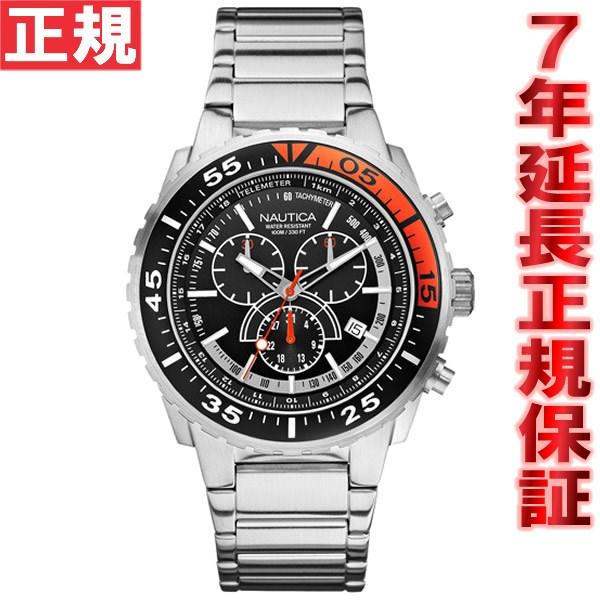 さらに期間限定50%OFF!半額セール開催中♪ ノーティカ NAUTICA 腕時計 メンズ NST700 クロノ A16656G